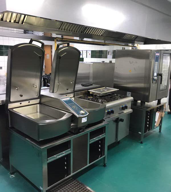 Equipements de cuisine dans un EHPAD